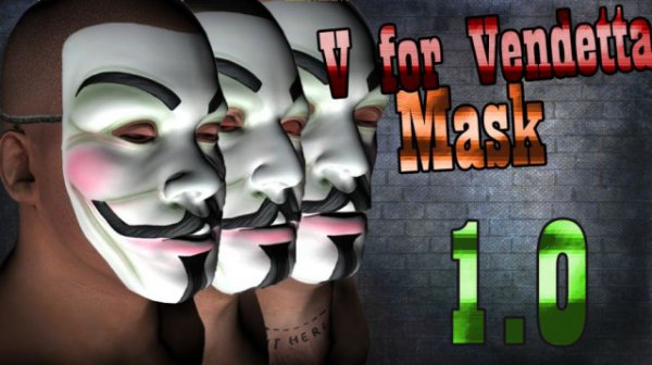 Vendetta Mask(Face Paint) v1.1