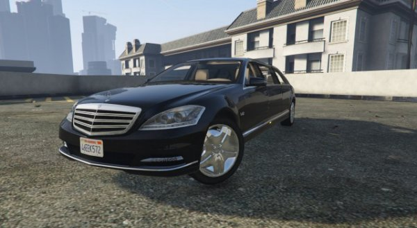 Mercedes-Benz S600 2011 Guard Pullman v1.1 для GTA 5